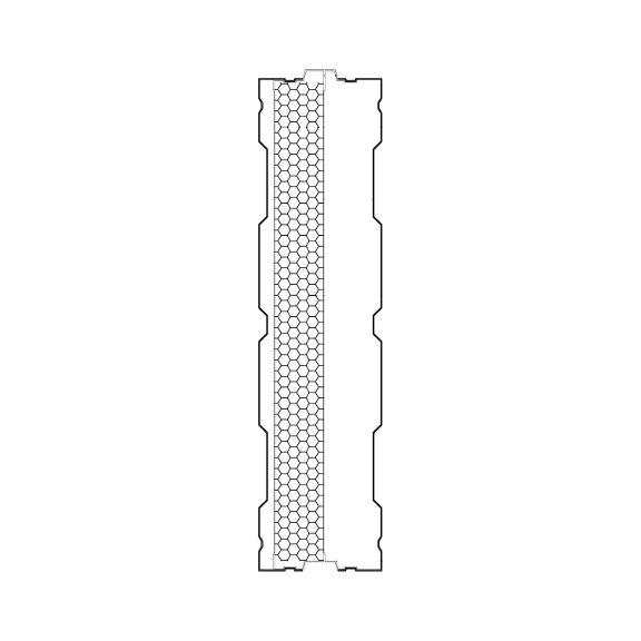 Aluminijski panel protiv buke AL-1S
