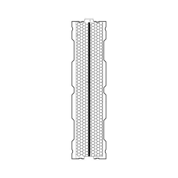 Aluminijski panel protiv buke AL-2S