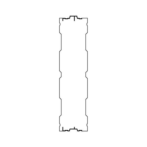Aluminijski panel protiv buke AL-3