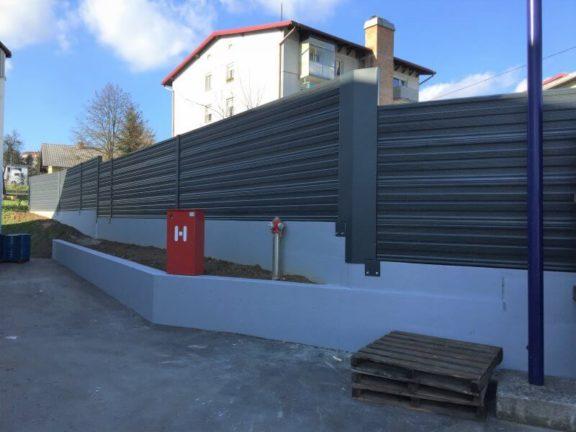 Aluminijska bariera protiv buke Multivario Dana Mirna
