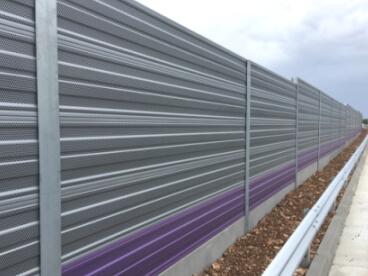 Aluminijska zvučna barijera Vodice Hrvatska