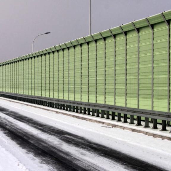 Aluminijski paneli za zaštitu od buke prometa