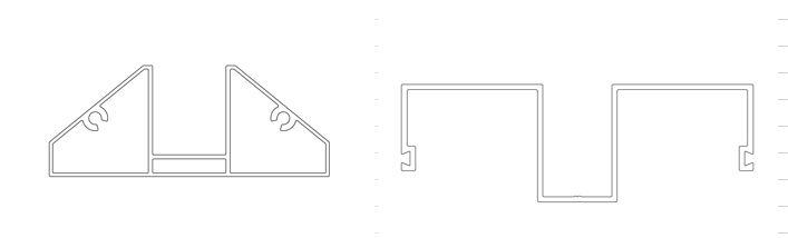 Aluminijski profili za transparentne panele protiv buke