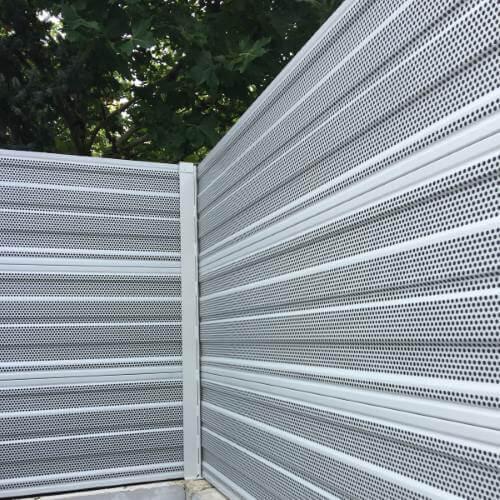Aluminijska zaštita protiv buke dizalice topline Trebnje