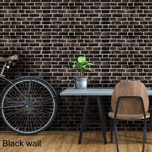 Dekorativne zidne obloge Plastonda Decor black wall