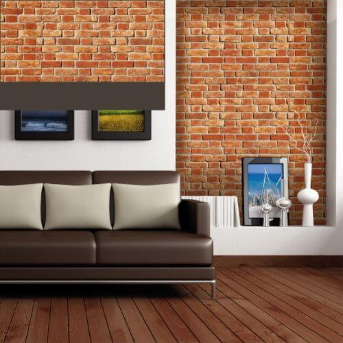 Dekorativne zidne obloge Plastonda Decor cigla crvena