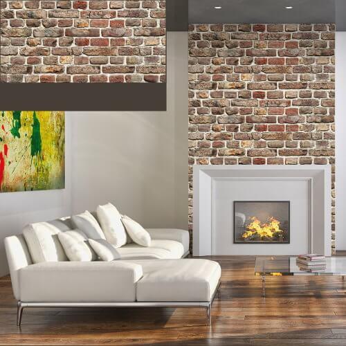 Dekorativne zidne obloge Plastonda Decor cigla smeđa