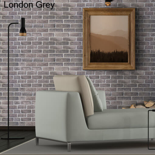 Dekorativne zidne obloge Plastonda Decor London Gray