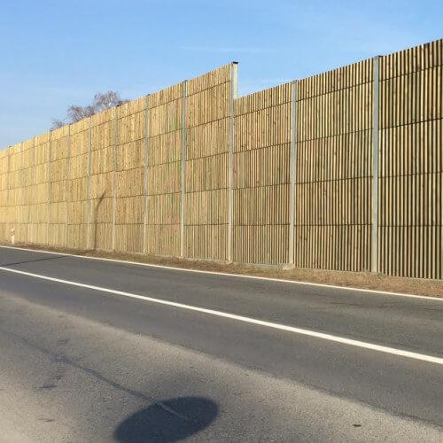 Drvena zaštita protiv buke Švajcarnica Osijek