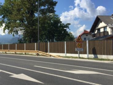 Drvene ograde protiv buke Bled Slovenija