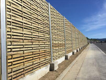 Drveni paneli za zaštitu od buke - Križpolje