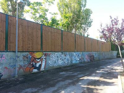 Drveni paneli za zaštitu od buke Wood