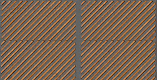Slaganje drvenih panela protiv buke-dekorativne letvice dijagonalno