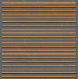 Slaganje drvenih panela protiv buke-dekorativne letvice horizontalno