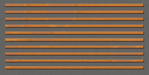 Drveni panel protiv buke-dekorativne letvice horizontalno