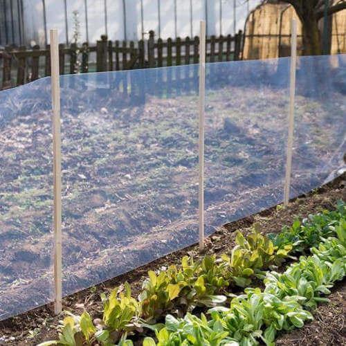 Mekane pvc folije Polikristal uporaba u vrtu