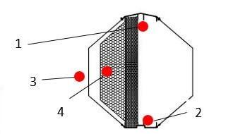 nacrt akustičkog apsorbera Oktagon