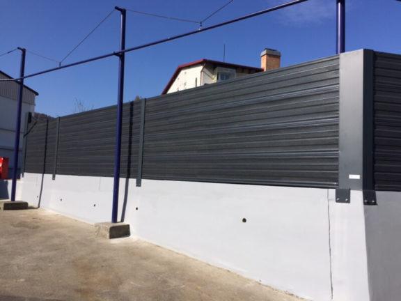 Ograda protiv buke antracit siva-RAL 7016 Dana Mirna