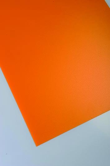 Polipropilenska ploča Policolor - narančasta