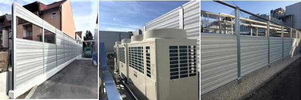 Zaštita od buke u industriji-aluminijski paneli