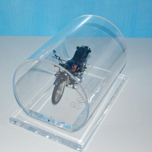 Prozirne cijevi od akrila za zaštitu modela