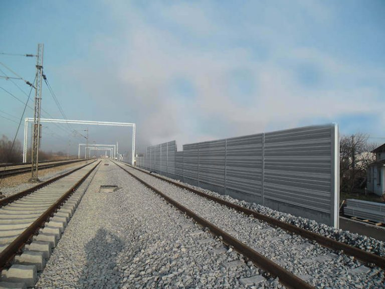 Reference ograde protiv buke željeznica