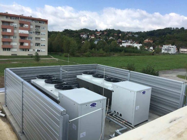 Reference zaštita od buke dizalica topline i rashladnih sistema
