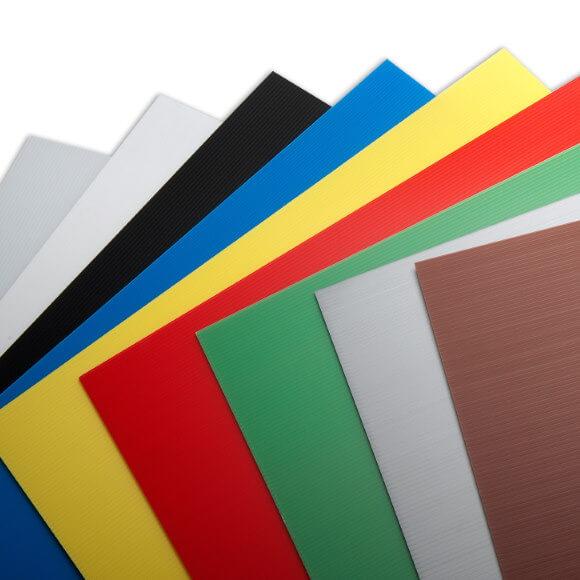 Sačaste polipropilenske ploče Plastonda u bojama