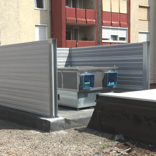 Smanjenje buke dizalice topline Ljubljana