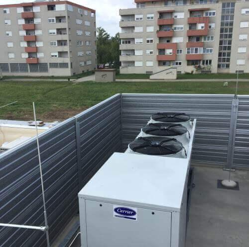 Smanjenje buke dizalice topline Lidl Huzjanova Zagreb