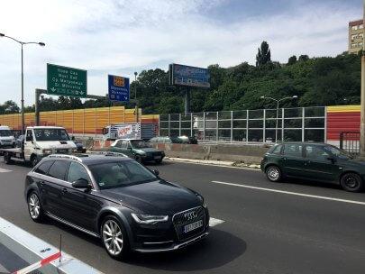 Transparentna ograda protiv buke - Hitna pomoč Beograd
