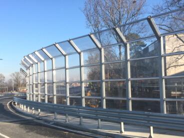 Transparentne ograde protiv buke rotor Zagreb