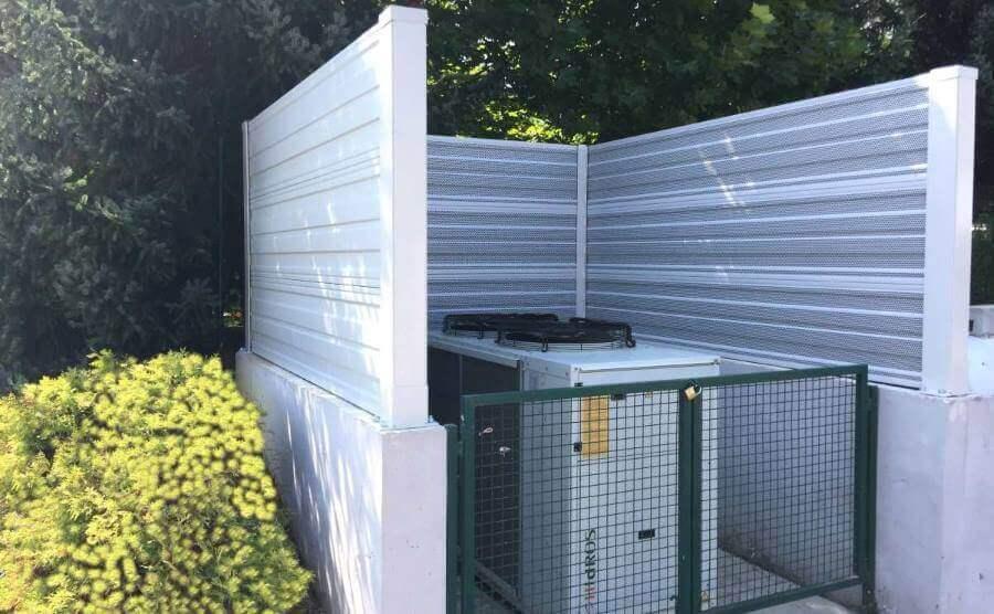 Zaštita od buke dizalice topline Trebnje