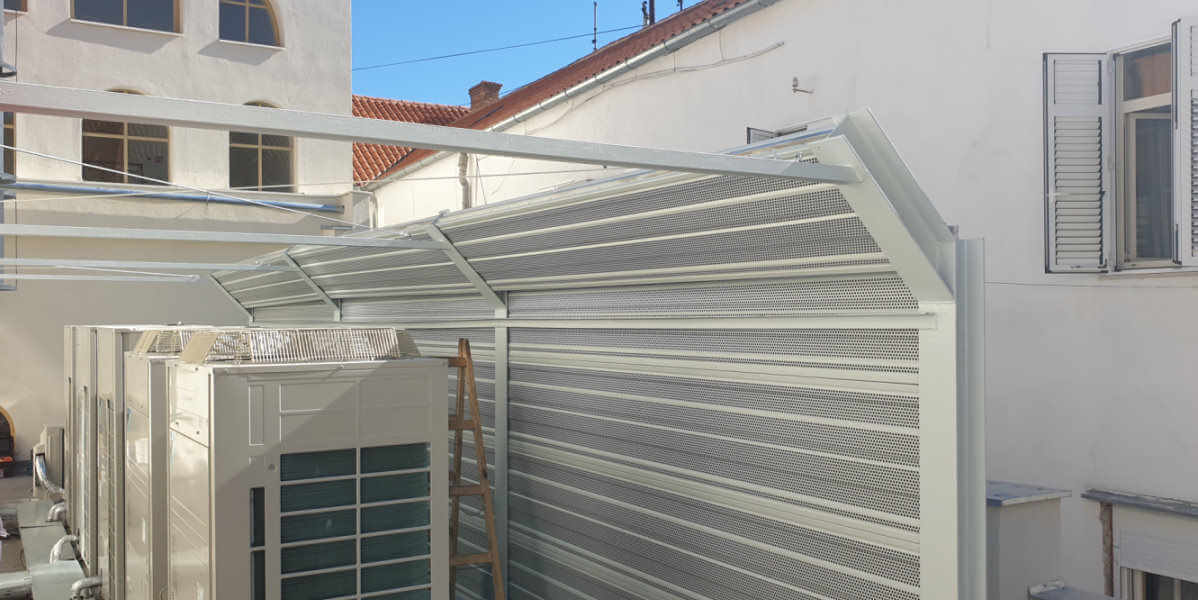 Zaštita od buke dizalice topline koncertna dvorana Split