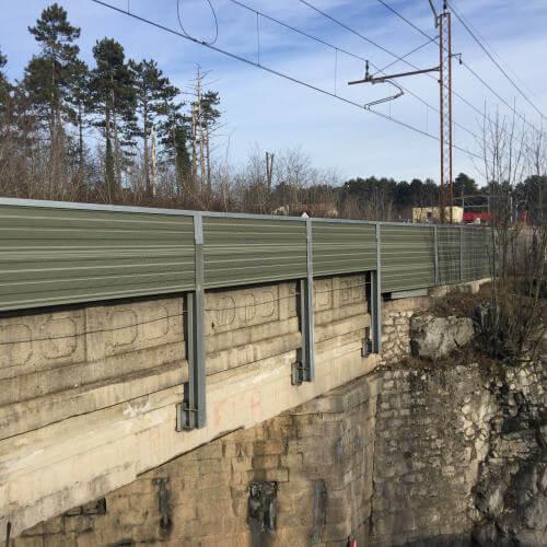 Zaštita od buke željeznica Koper Divača