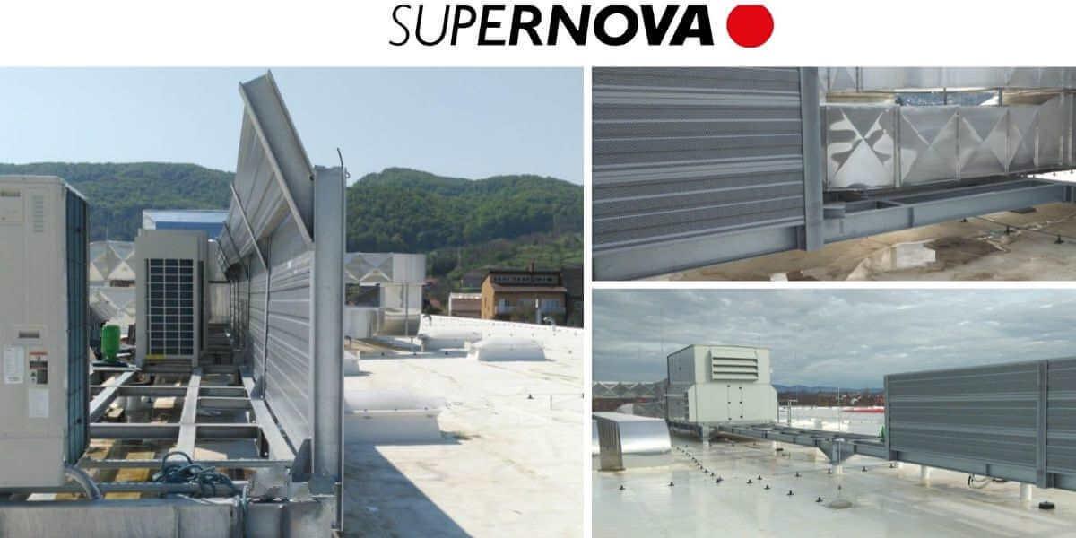 Zaštita od buke klimatskih naprava Supernova Požega
