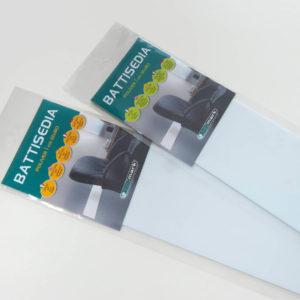 Zaštita za zid Battisedia bijela