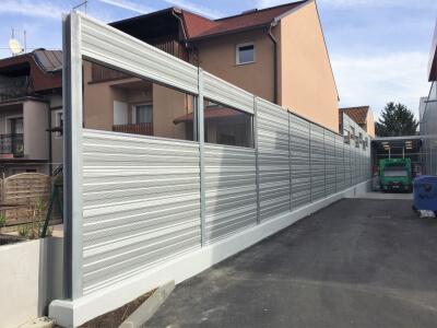 Zid za zaštitu od buke Špar Gajnice Zagreb