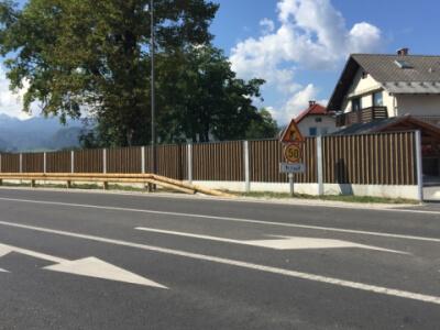 Drvena zvučna barijera Bled-paneli WS1
