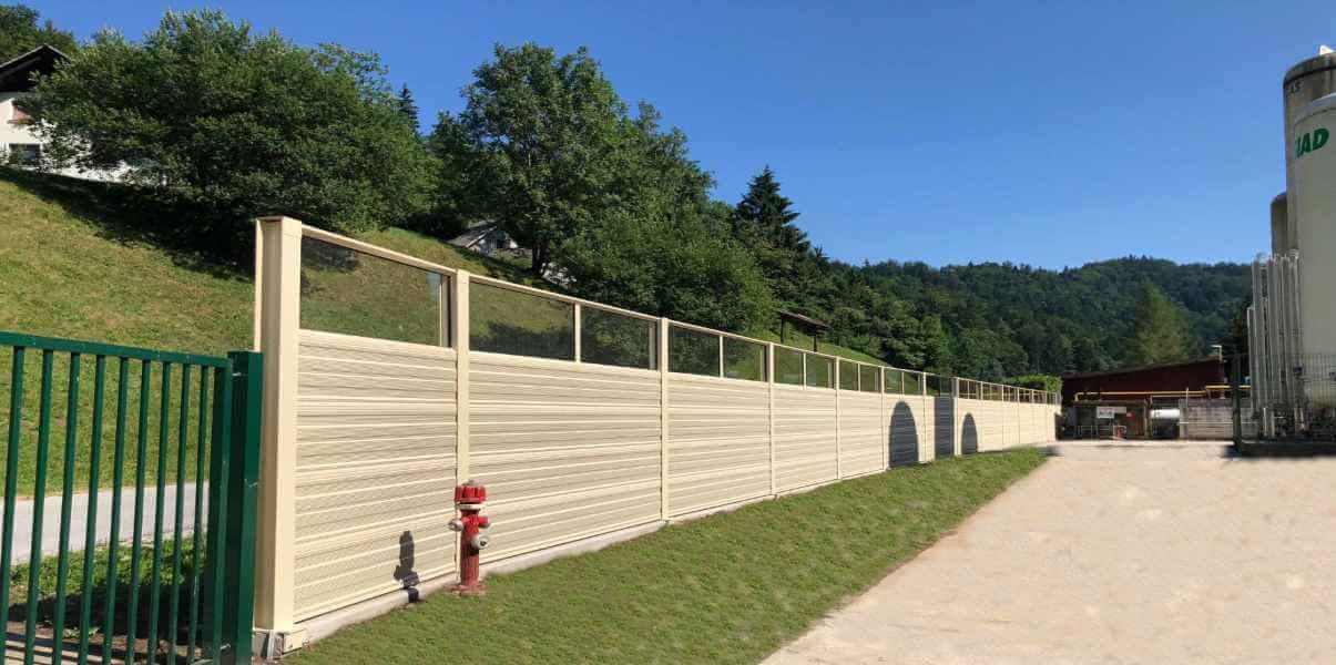 Zvučna bariera u industriji Borovlje Slovenija