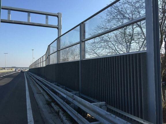 Zvučne barijere Zagreb A1
