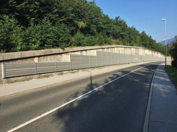 Zvuko upojna aluminijska obloga zida Lipce