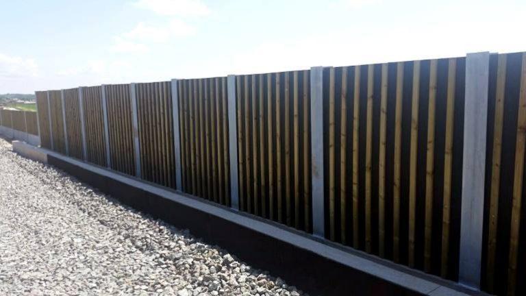 Drveni paneli za zaštitu od buke WS1 željeznica