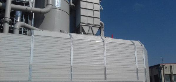 Zvuko upojni aluminijski paneli za zaštitu od buke